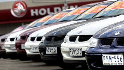 Let's face it, no one buys Holden Commodores any more