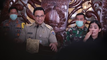 """Anies Baswedan, Governor of Jakarta: """"This is the time in which policymakers need to trust science""""."""