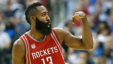 Houston's James Harden score 49 points.