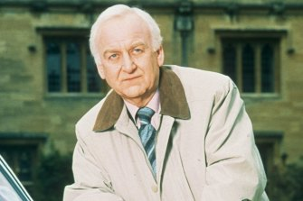Inspector Morse starring John Thaw.