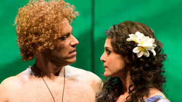 Leigh Melrose as Brett Whiteley and Julie Lea Goodwin as Wendy Whiteley.