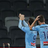 Wanderers narrowly miss out on clean sweep against Sydney FC