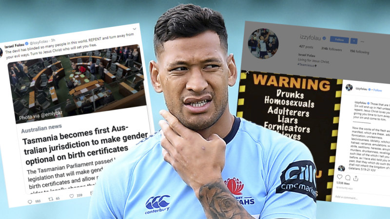 b2dff9c5390 Israel Folau's Rugby Australia hearing case is surrounded in fallacies