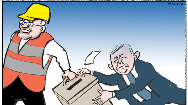 Anthony Albanese faces a task ahead of him. Illustration: Andrew Dyson