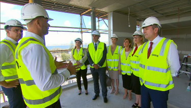 Premier Mark McGowan announces stamp duty rebates.