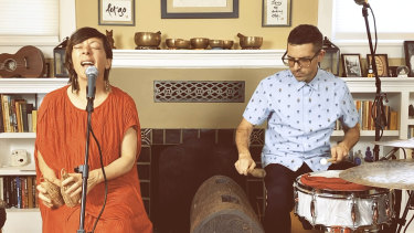 Gretchen Parlato and Mark Guiliana perform for These Digital Times.