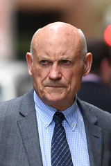 """Ian Macdonald, dubbed """"Hard Macca,"""" is facing a criminal trial for misconduct in public office."""