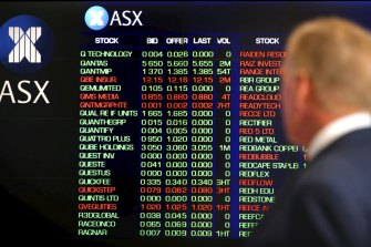 The local bourse fought its way back to a flat finish after opening lower.