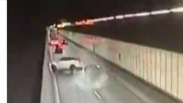 Man charged after M5 crash and carjacking