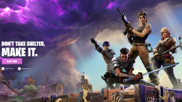 Fortnite is an online video game developed by Epic Games and released in 2017.