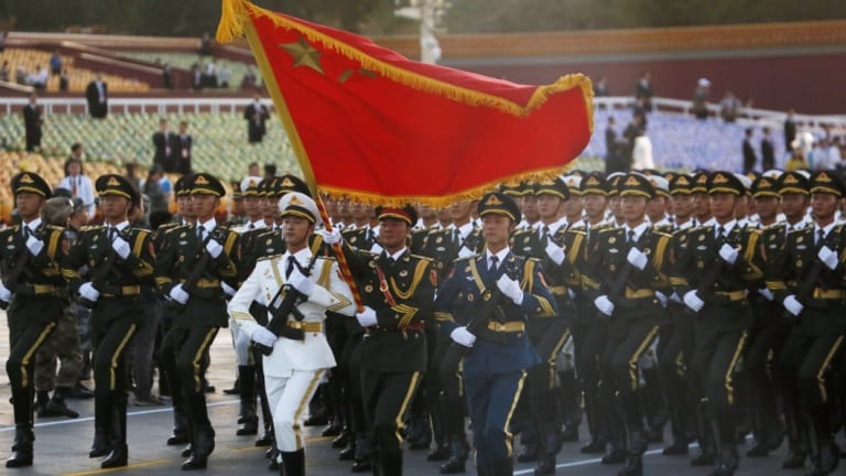 A failure to police China's rise in the liberal order.