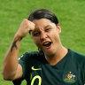 Matildas star Sam Kerr is the only Australian to make a Ballon d'Or shortlist.