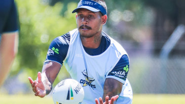 Deregistered: Ben Barba's attempted return to the NRL is over.