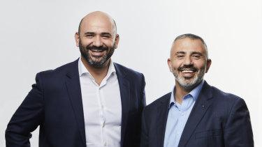 Binah managing directorsAmen Zoabi and Khalil Hazfa