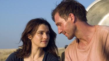 Rachel Weisz and Ralph Fiennes in The Constant Gardener.