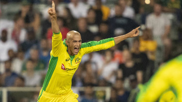 Spinner Ashton Agar played a key role in the series-clinching win over the West Indies.