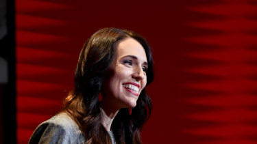 And she's off: New Zealand Prime Minister Jacinda Ardern launches her election campaign in Auckland, New Zealand.