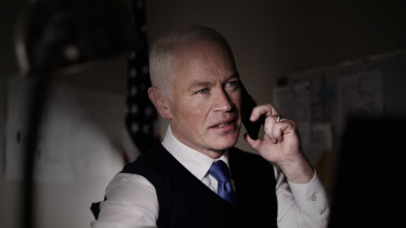 Directing a covert military operation from the US: Neal McDonough in Monsters of Man.