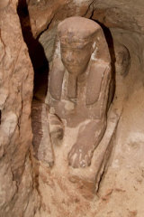A sphinx has been discovered in the Temple of Kom Ombo in Aswan, the Egyptian Antiquities Ministry said on Sunday.