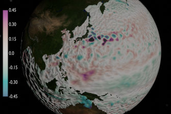 Nearly three decades of satellite data have given researchers information about long-term changes in difficult to measure ocean currents and eddies.