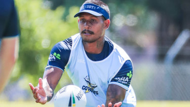 Sacked: Ben Barba has had his contract torn up by the Cowboys.