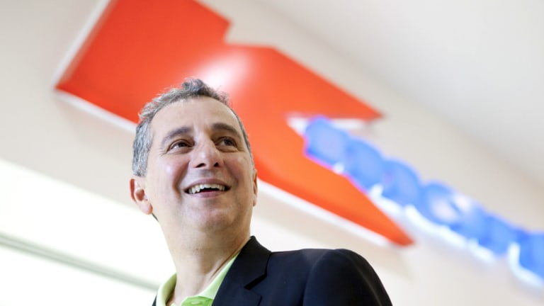 Wesfarmers' department store managing director Guy Russo has bowed out with a strong result.