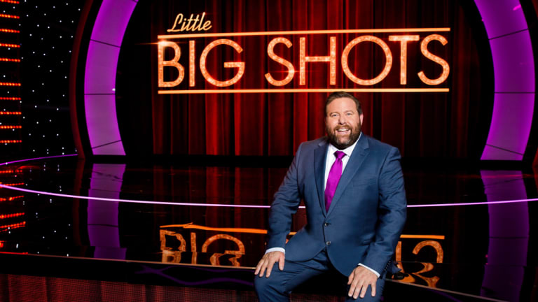 Shane Jacobson hosts Little Big Shots.