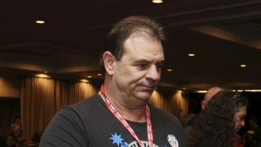 CFMEU building division Victorian secretary John Setka