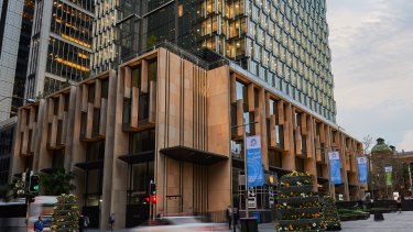 Investa Commercial Property Fund's 60 Martin Place in Sydney.