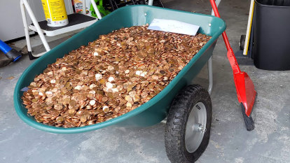 Coin converter honours pay cheque paid in pennies