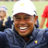 Woods, Reed lead American revival to win Presidents Cup