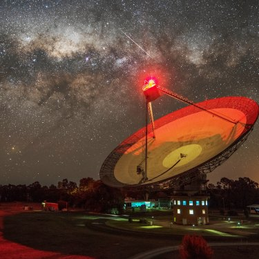 Australia's Parkes Telescope is part of a global eavesdropping effort, listening out for signs of faraway intelligent life.