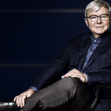 """Rudd has suffered three grand setbacks in his political life: """"It was not a happy place. If it weren't for faith and family … I'm not sure that I would have come through it as a properly formed human being."""""""