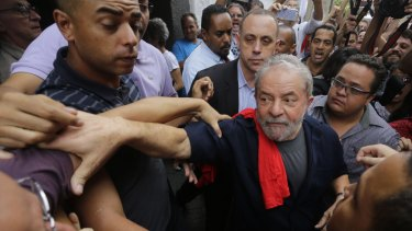 Brazil's former president Luiz Inacio Lula da Silva pictured in March, 2016.