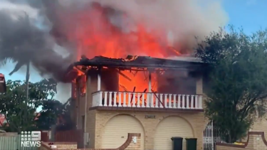 Firefighters at the scene three people in the home at the time were able to self-evacuate.