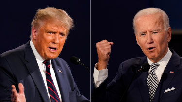 Trump and Biden will be participating in their second election debate from remote locations.