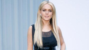 Lindsay Lohan in 2007.