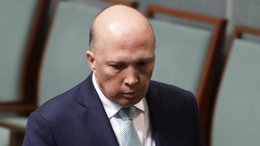 Questions are being asked about the eligibility of Peter Dutton serving in Parliament.