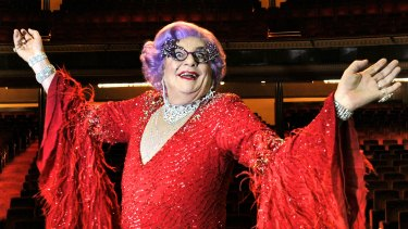 Dame Edna Everage is among the artists confirmed for the opening program.