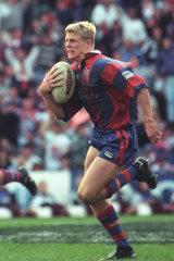 Darren Albert's miracle try in the 1997 ARL grand final.