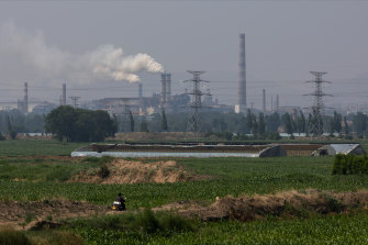 China's annual emissions output is more than 10 billion tonnes.