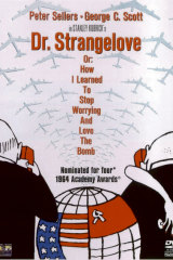 French artist Tomi Ungerer's release poster for the 1964 film <i>Dr Strangelove</i>.