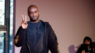 Fashion designer Virgil Abloh has partnered with water company Evian to produce a range of luxury water bottles.