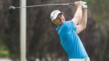 Canberra golfer Brendan Jones is equal leader of the Japan Open.