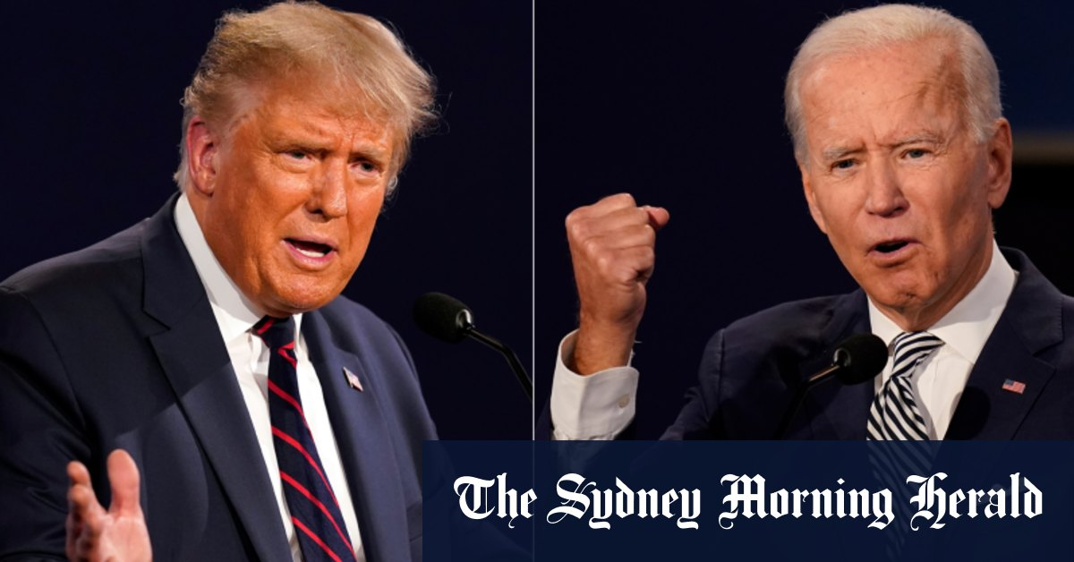 Second Trump-Biden debate going virtual amid President's COVID-19 diagnosis – Sydney Morning Herald