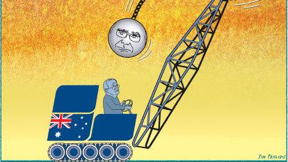 Morrison is modelling John Howard, but it's a risky move