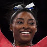 Biles becomes the most decorated female gymnast in history