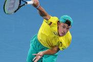 Alex de Minaur will spearhead Australia's Davis Cup campaign.