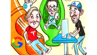 Tech titans reach a new peak
