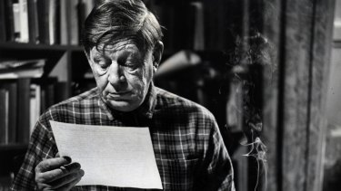 W.H. Auden took uppers to work and downers to sleep.